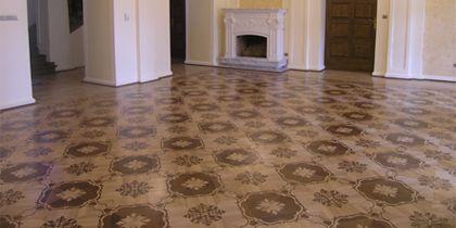 Bordúry, rozety, lamely, parkety na podlahové vykurovanie