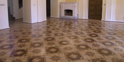 Bordúry, rozety, lamely, parkety na podlahové vykurovanie<script src=